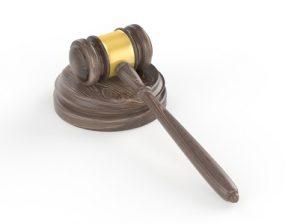 裁判官の木槌
