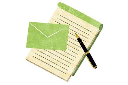 うぐいす色の手紙